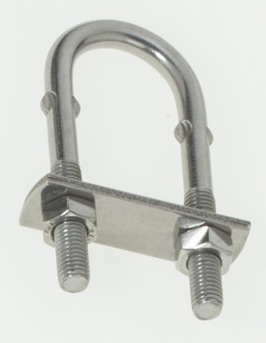 5mm Stainless Steel U Bolt AISI 316 Pack of 2